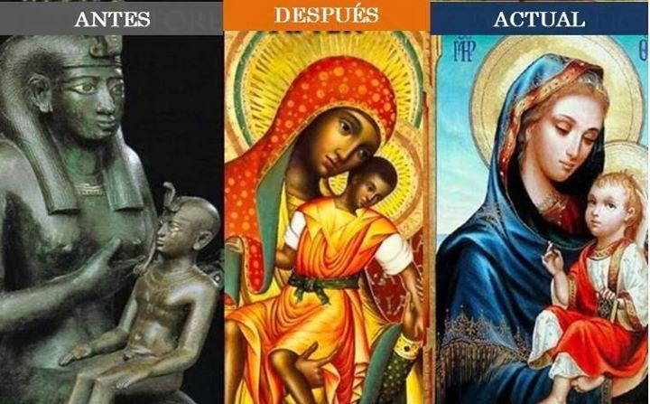 virgen maria - reina del cielo - diosa del cielo