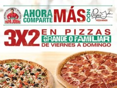 OFERTA 3X2 en Pizza Grande Viernes y Domingos